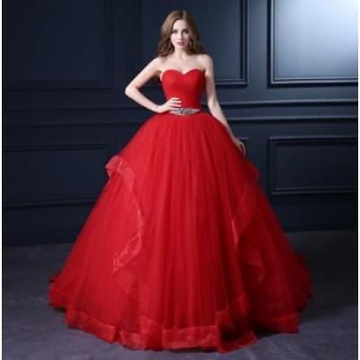 ベアトップ トレーン Seet style フォマールドレス 優雅 パーティドレス フェミニン お呼ばれドレス 結婚式 花嫁 挙式 編み上げ