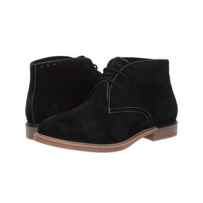 Hush Puppies ハッシュパピーズ レディース 女性用 シューズ 靴 ブーツ チャッカブーツ アンクル Bailey Chukka Boot - Black Suede