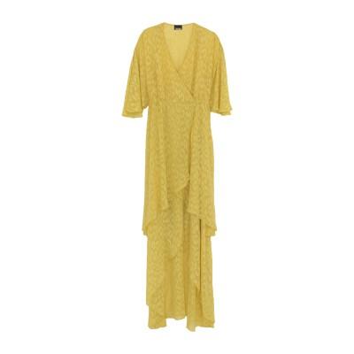 ジャストカヴァリ JUST CAVALLI ミニワンピース&ドレス イエロー 36 ポリエステル 100% ミニワンピース&ドレス