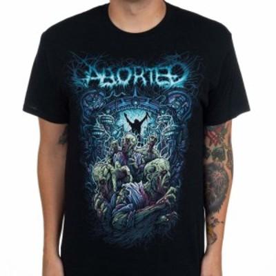 アボーテッド Aborted メンズ Tシャツ トップス Demon Black
