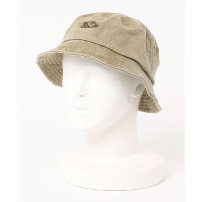 FRUIT OF THE LOOM / LOGO PIGMENT BUCKET HAT WOMEN 帽子 > ハット
