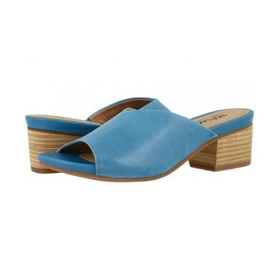 SoftWalk ソフトウォーク レディース 女性用 シューズ 靴 ヒール Parker - Blue