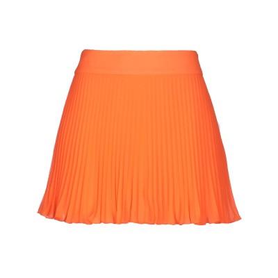 FAP  FILLES A PAPA ミニスカート オレンジ 0 ポリエステル 100% ミニスカート