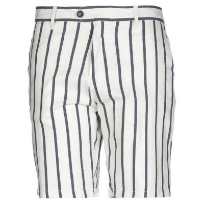 PERFECTION ショートパンツ&バミューダパンツ  メンズファッション  ボトムス、パンツ  ショート、ハーフパンツ アイボリー