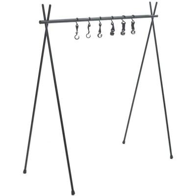 Anlik ハンガーラック アルミ製 折り畳み 簡単組立 キャンプ 収納バッグ付