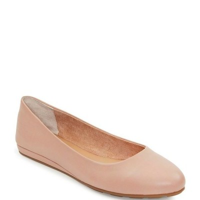 ミートゥー レディース パンプス シューズ Alina Leather Wedge Ballet Flats