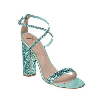 レディース シューズ  Giuseppe Zanotti Glitter Leather Sandal
