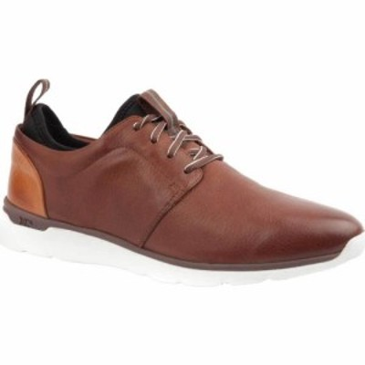 ジョンストンandマーフィー Johnston and Murphy メンズ スニーカー シューズ・靴 Prentiss Plain Toe Sneaker Mahogany Waterproof Leat