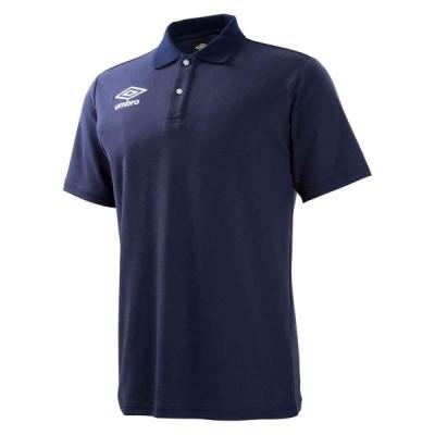 UMBRO/アンブロ UBS7700 サッカー ウェア(ユニ) カノコポロシャツ ネイビー UBS7700