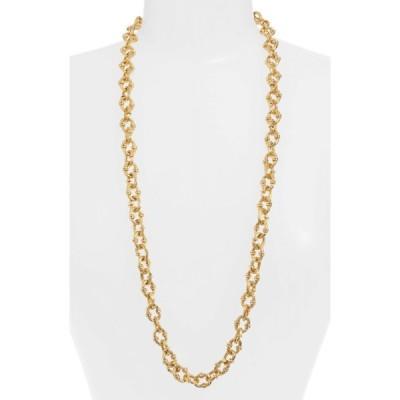 カリーンサルタン KARINE SULTAN レディース ネックレス ジュエリー・アクセサリー Textured Long Chain Necklace Gold