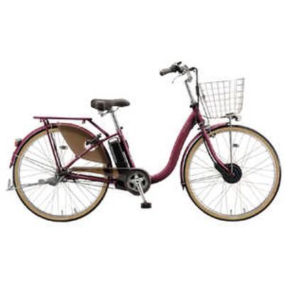 ブリヂストン 電動アシスト自転車 FRONTIA フロンティアデラックス F.Xベルベッドローズ F6DB41 [3段変速 /26インチ] ベルベットロース