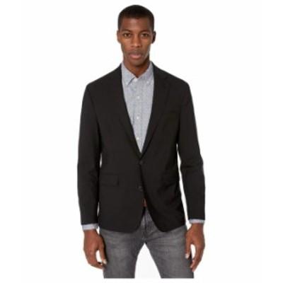 コールハーン メンズ コート アウター Slim Fit Suit Separate Coat Black