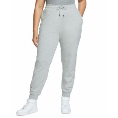 ナイキ レディース カジュアルパンツ ボトムス Plus Size Essential Fleece Pants Dark Grey Heather/White