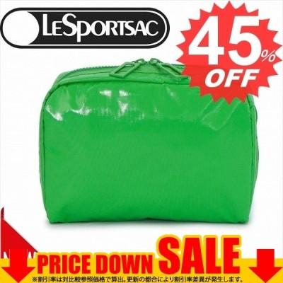 レスポートサック バッグ ポーチ LESPORTSAC EXTRA LARGE RECTANGULAR COSMETIC 7121  F117 CLASSIC GREEN LP    比較対照価格6696円