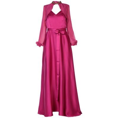 ピンコ PINKO ロングワンピース&ドレス ガーネット 40 71% アセテート 29% ヴィニョン ポリエステル ロングワンピース&ドレス
