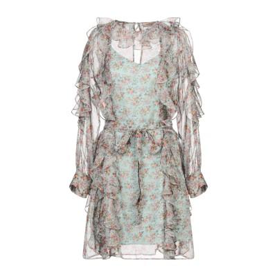 ツインセット シモーナ バルビエリ TWINSET ミニワンピース&ドレス ライトグリーン 40 ポリエステル 100% ミニワンピース&ドレス