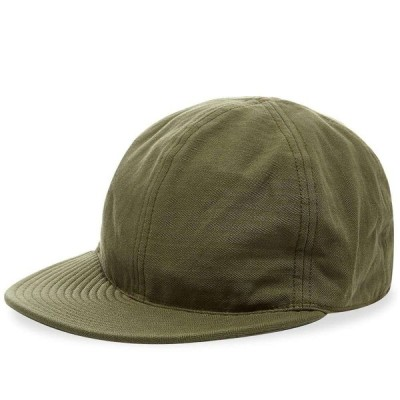 ザ リアル マッコイズ The Real McCoys メンズ キャップ 帽子 The Real McCoy's Type A-3 Cap Green