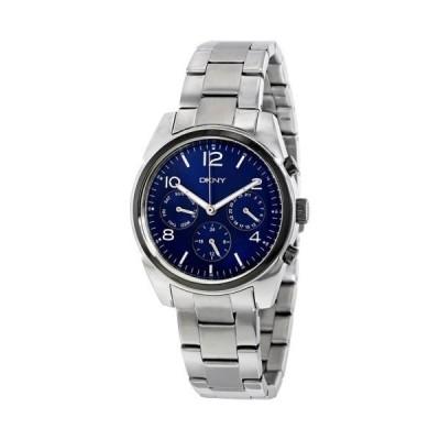 腕時計 ディーケーエヌワイ DKNY Crosby マルチ-Function ブルー ダイヤル レディース 腕時計 NY2470
