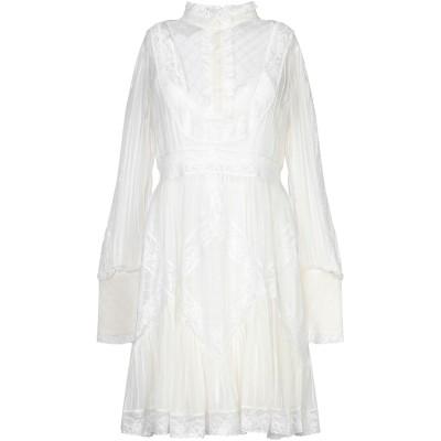 ZIMMERMANN ミニワンピース&ドレス アイボリー 2 ポリエステル 90% / ポリウレタン 10% ミニワンピース&ドレス
