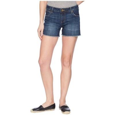 カットフロムザクロス レディース ハーフパンツ・ショーツ ボトムス Gidget Fray Shorts in Stimulating/Dark
