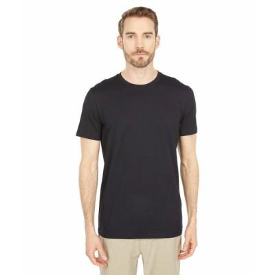 セレクテッドオム シャツ トップス メンズ Norman Short Sleeve O-Neck Tee Shirt Black