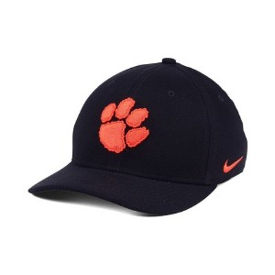 ナイキ メンズ 帽子 アクセサリー Clemson Tigers Classic Swoosh Cap Black