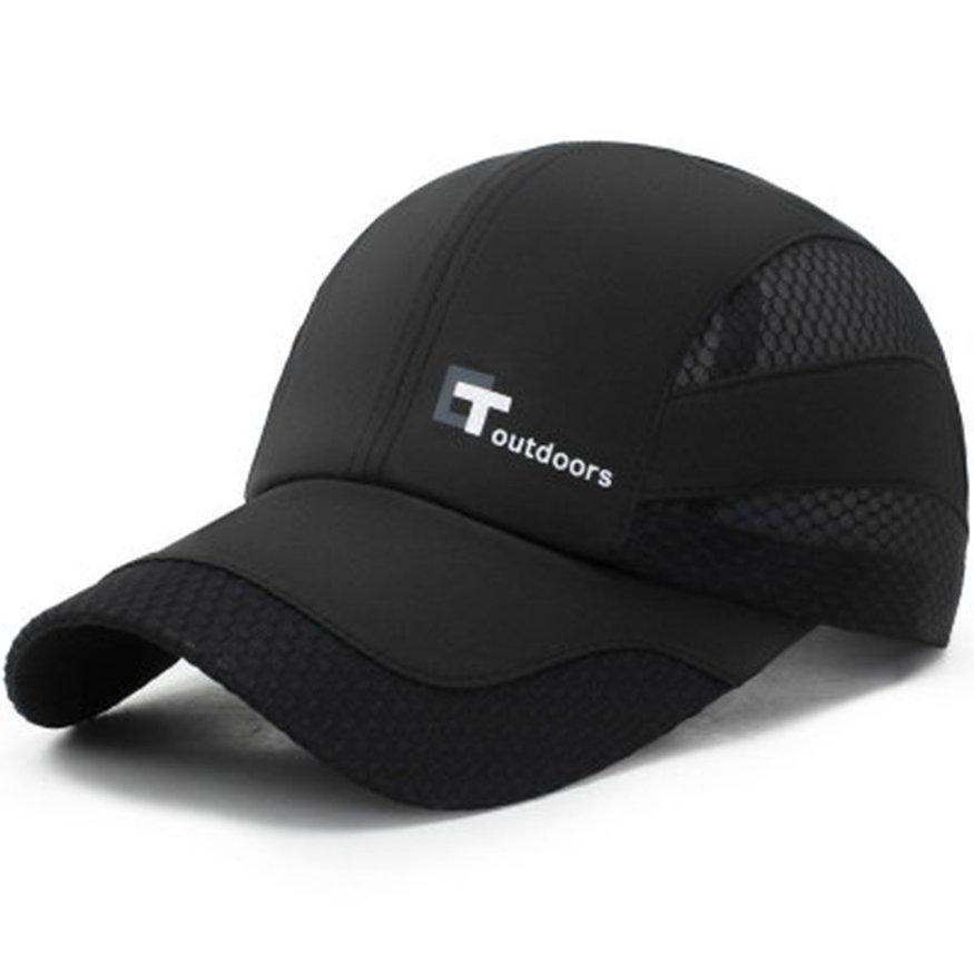 夏季運動網狀速乾帽男士棒球帽戶外防曬帽 潮可 女包 上新