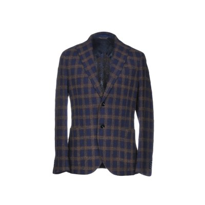 マニュエル リッツ MANUEL RITZ テーラードジャケット ブルー 46 ウール 56% / ナイロン 30% / アクリル 14% テーラー
