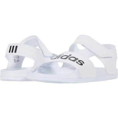 アディダス adidas レディース サンダル・ミュール シューズ・靴 Adilette Sandal Footwear White/Core Black/Footwear White