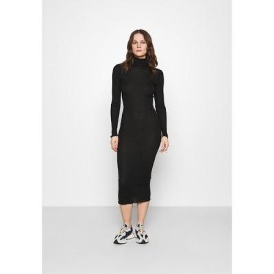 サムスサムス ワンピース レディース トップス CUPIDON DRESS - Jumper dress - black