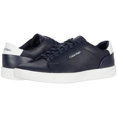 カルバン・クライン Winston メンズ スニーカー 靴 シューズ Dark Navy Tumbled Smooth