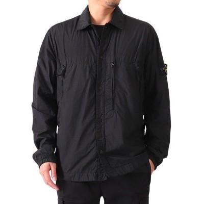 Stone Island ストーンアイランド ロゴパッチ ナイロンメタル シャツジャケット 711510323 メンズ