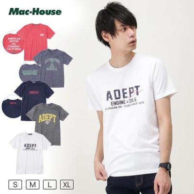 Tシャツ 半袖 半袖Tシャツ クルーネック メンズ ロゴ プリント アメカジ ネコポス対応