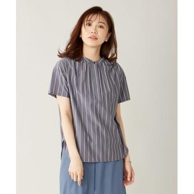 S size ONWARD(小さいサイズ) / 【イージーケア】スビンギザストライプ カットソー WOMEN トップス > Tシャツ/カットソー