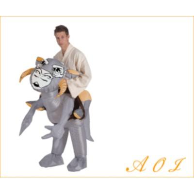 【メンズ】【88R9831】トントン【Tauntaun】【スターウォーズ】【STARWARS】【かぶりもの】【仮装】【パーティ】恐竜に乗ってどこまでも