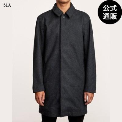 OUTLET 2019 RVCA ルーカ メンズ MAC WOOL COAT コート BLA 全1色 S/M/L rvca