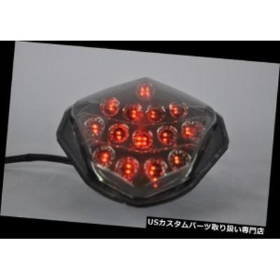バイク テールライト ターンシグナル内蔵ブレーキテールライトLEDスモークスズキ2003-2004 GSXR1000  Brake Tail Light LED Smoke with I