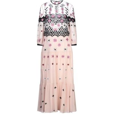 テンパリー・ロンドン TEMPERLEY LONDON ロングワンピース&ドレス ローズピンク 14 レーヨン 100% / ナイロン ロングワンピ