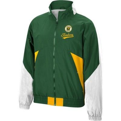 ミッチェル&ネス Mitchell & Ness メンズ ジャケット ウィンドブレーカー アウター Portland Timbers '96 Retro Victory Green Windbreaker Jacket