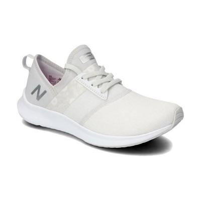 ニューバランス(New Balance) レディース スニーカー ホワイト WNRG PW2 D 靴 カジュアル ウォーキング ジョギング 散歩 ジム フィットネス