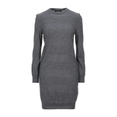 DSQUARED2 ニットドレス  レディースファッション  ドレス、ブライダル  パーティドレス グレー