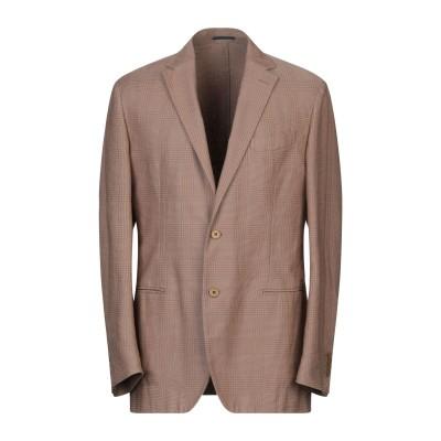 ラルディーニ LARDINI テーラードジャケット ライトブラウン 50 コットン 100% テーラードジャケット
