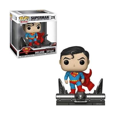 並行輸入品 Funko POP DCコミックス スーパーマン ジム・リー デラックス 278 限定ビニールフィギュア