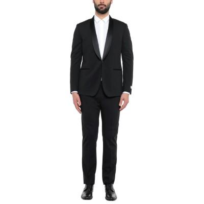 TOMBOLINI スーツ ブラック 44 レーヨン 81% / ナイロン 13% / ポリウレタン 6% スーツ