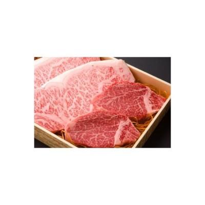 豊後黒毛和牛 ステーキセット (サーロインステーキ180g×2枚,ヒレステーキ130g×2枚)