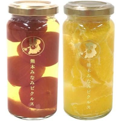 熊本みなみピクルス スイーツセット 柑橘系ピクルス&プチトマトのハニーシロップ