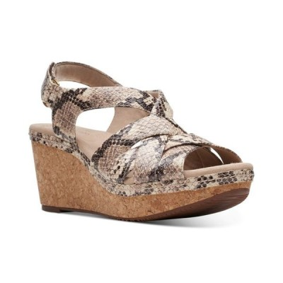 クラークス レディース サンダル シューズ Collection Women's Annadel Rayna Wedge Sandals