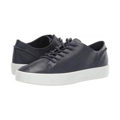 ECCO エコー レディース 女性用 シューズ 靴 スニーカー 運動靴 Soft 8 Leisure Tie - Marine Cow Leather