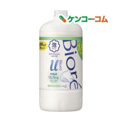 ビオレu ザ ボディ The Body 泡タイプ ヒーリングボタニカルの香り つめかえ用 ( 800ml )/ ビオレU(ビオレユー)