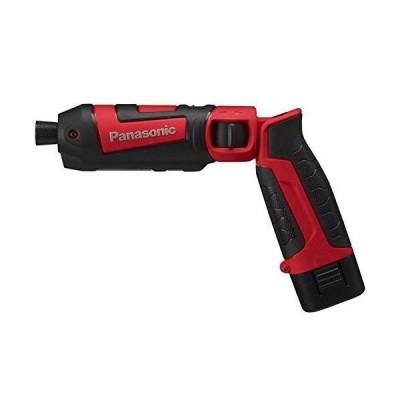 パナソニック(Panasonic) 充電スティック インパクトドライバー 7.2V 赤 電池2個付 EZ7521LA2S-R